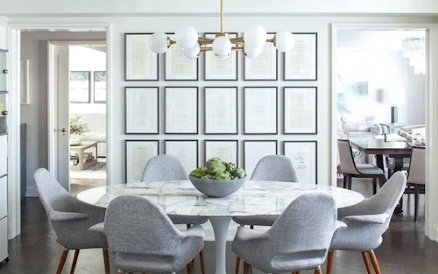 Ideas for designing a modern luxury dining room
